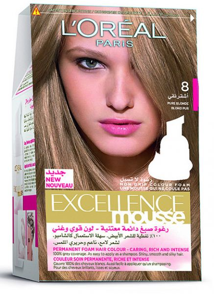 L'Oreal Paris Excellence Mousse Pure Blonde 800, review and buy in ...