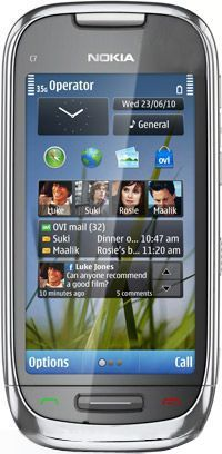Souq nokia c7 wifi 3g silverblack uae 29000 aed reheart Images