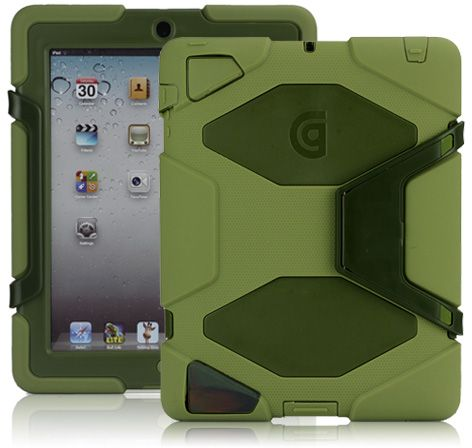 griffin survivor case for ipad 2 3 4 gen \u2013 retail packing \u2013 greenCases For The Ipad 5 Case For Ipad Ipad 1 Survivor Case Last Generation Ipad Fashion #14