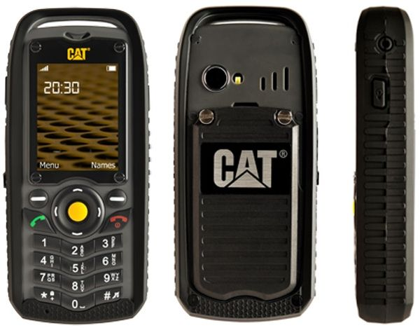 Cat B25 Ultra Rugged Dual Sim Phone 512mb 2g Black