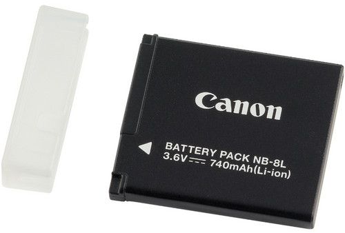 Canon Rechargeable Li-ion Battery NB-8L