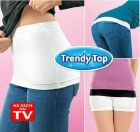 Trendy Top Hip Skirt Set Of 2 Black & White Small (Accessory)