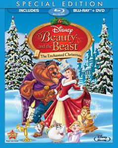 beauty and the beast the enchanted christmas special edition two disc blu ray dvd in blu ray packaging
