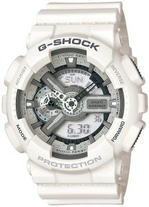 f2fff526e7512 Casio G-Shock Men s White Dial Resin Band Watch - GA-110C-7A