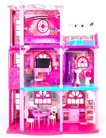 Barbie 3 Story Dream Townhouse Souq Uae