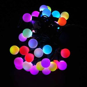 Rgb Led Christmas Lights.Sewell Direct Linkable Color Changing Led Rgb Ball String Christmas Xmas Lights Belt Light