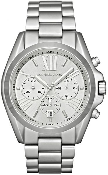 829c9ad5e245 Michael Kors Bradshaw Watch for Women - Analog Stainless Steel Band ...