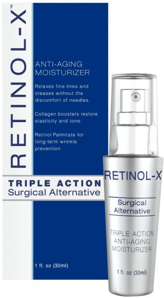 4 Pack - Retinol-X Triple Action Anti-Aging Moisturizer 1 oz Skin Cleanser Refill KCC91591