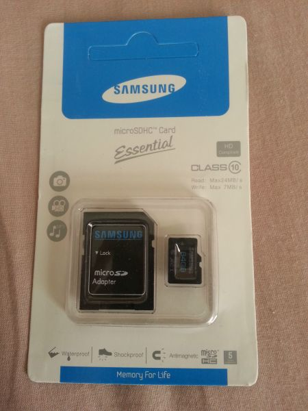samsung 64gb micro sd class 10 sdhc adapter souq uae. Black Bedroom Furniture Sets. Home Design Ideas