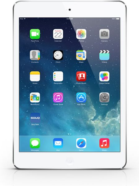 Apple iPad Air 1st Gen Tablet - 9.7 Inch, 16GB, WiFi, White & Silver