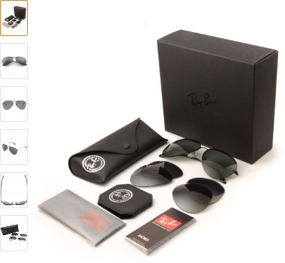 683e0ad22e0 Ray Ban ORB3460 with 3 interchangeable lens