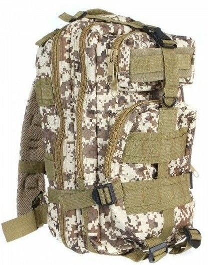 Camo Camping Backpack Travel Outdoor Tactical Sport Backpack Rucksacks XL
