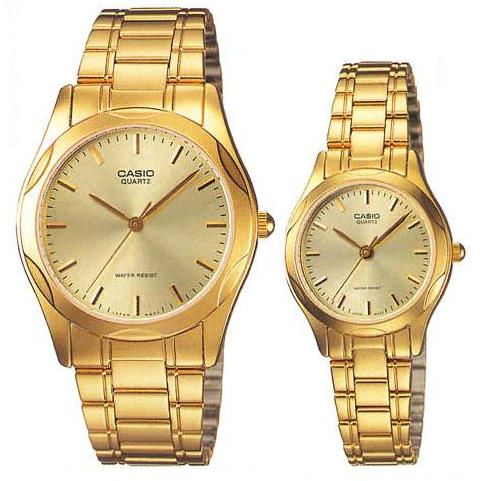His And Hers Watch Sets >> Casio For His And Her Analog Stainless Steel Watch Set