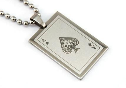 Buy ace of spade pendant necklaces uae souq this item is currently out of stock aloadofball Image collections
