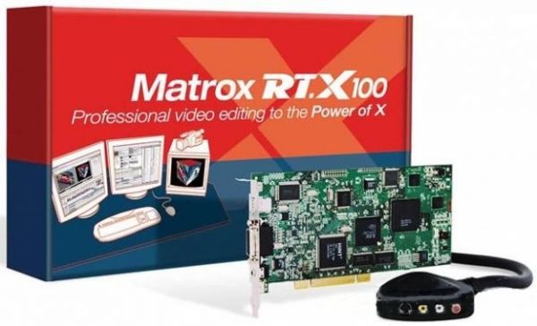MATROX RT.X100 DRIVER FOR WINDOWS