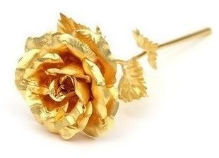 24k Gold Rose Flower Gift Valentine S Day Gift Big Rose With