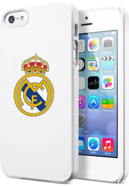 official photos 53bf3 05a53 Margoun Real Madrid C.F. cover case for Apple iPhone 5 5s (WH-06 ...