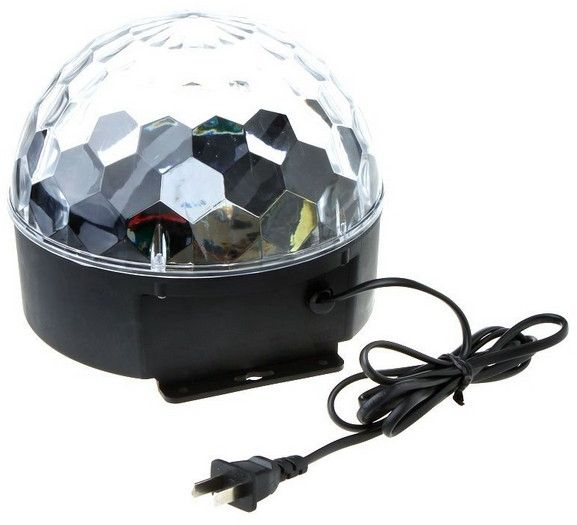 20W Voice-activated LED RGB Crystal Magic Ball Stage Ef..