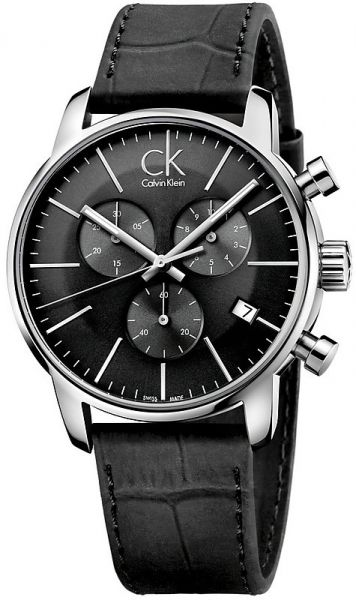 7148486ae Calvin Klein City Watch for Men - Analog Leather Band - K2G271C3 | Souq -  Egypt
