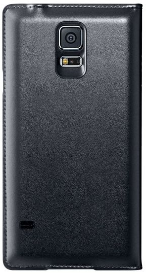 purchase cheap 5aae2 d8cda SAMSUNG Galaxy S5 G900 S-View Flip Cover, Black