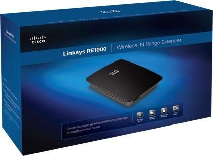 Cisco Linksys Re1000 Wifi Internet Range Extender Computers/tablets & Networking Free Shipping! Boosters, Extenders & Antennas
