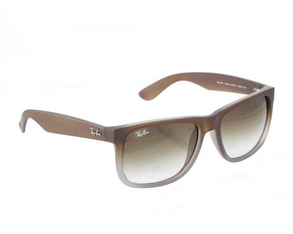 fb311025181 Ray-ban Justin Unisex Sunglasses - Amber brown -RB4165-854 7Z55 ...