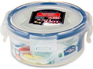 Lock & Lock HPL934C Food Container Round 140ML With Divider