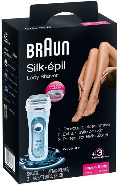 Braun Silk Epil Female Lady Shaver Ls5160wd 1 Count Souq