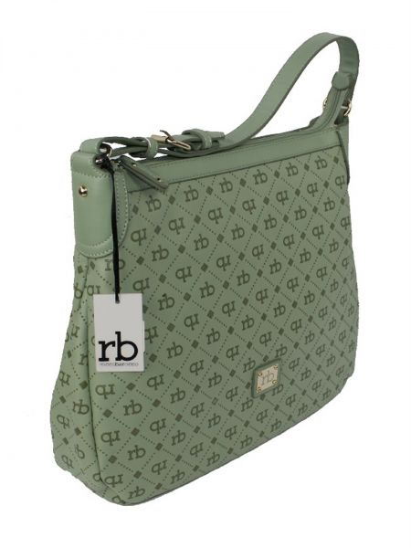 Roccobarocco Women's Summer Leo Monogram Logo Cross Body Bag