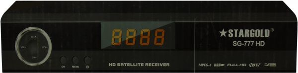 Star Gold SG-777 HD Automatic Network Search Satellite Receiver with Various Channel