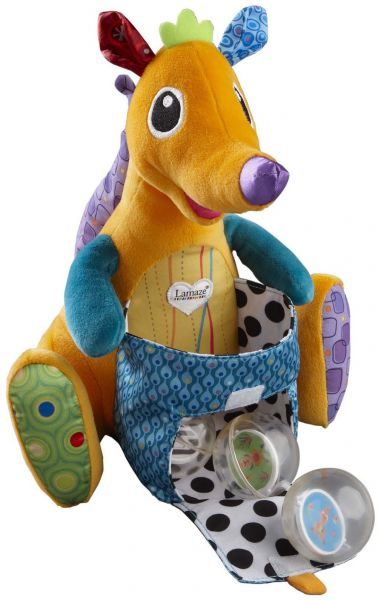 Lamaze Kangaroo Sitting Stuffed Animals Toy Lc27326 Toys Baby