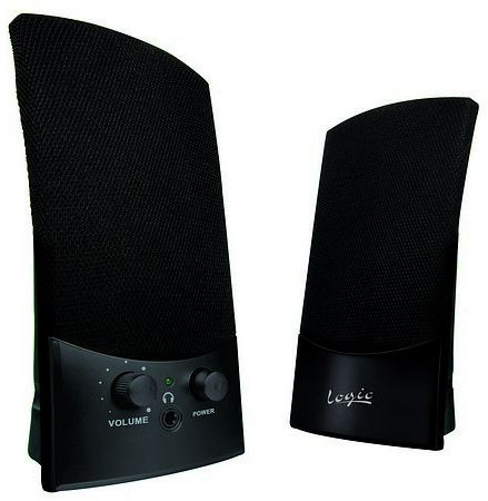 Logic LS-10 Wired Speakers