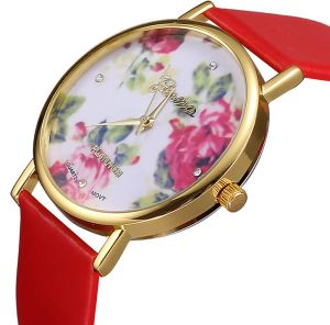c104c6cfe0c Casual Watch For Ladies Quartz Watches women Wristwatch watch Women Dress  Watches ---Red