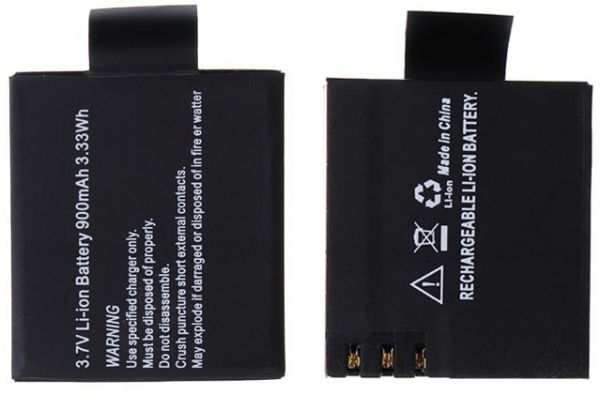 8ac0866db9a 3.7V 900mAh replacement Li-ion Battery for SJ4000 Sports Camera ...