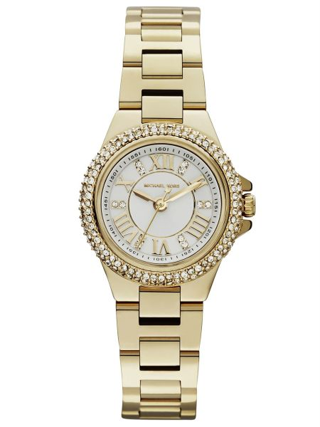 18a1afad3 Michael Kors Camille Watch for Women - Analog Stainless Steel Band - MK3252  | KSA | Souq