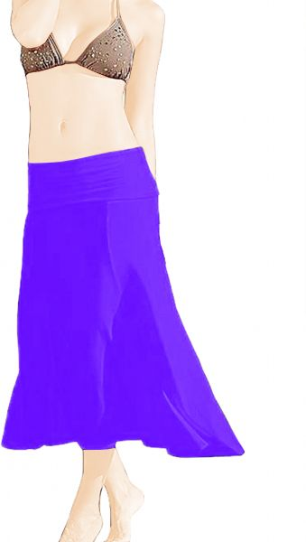 Swimsuit Cover-Up, Purple, X Large