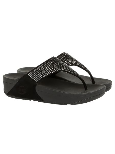 066ae023b FitFlop Black Flip Flops Slipper For Women