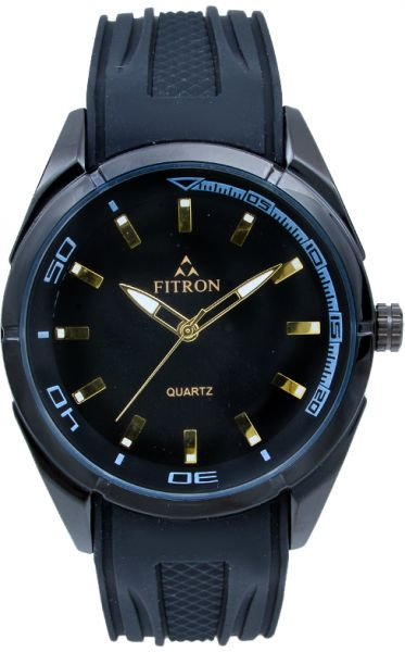 2c066b71a Fitron Men's Black Dial Rubber Band Watch [7902M] | مصر | سوق