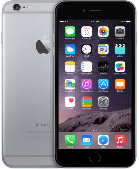 Apple iPhone 6 Plus With FaceTime - 64GB, 1GB, 4G LTE, Space Gray