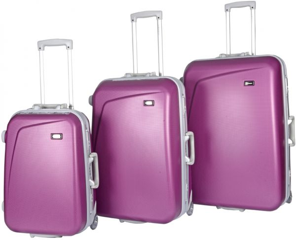 18055596b524 Buy Eminent 3 Pcs. Abs Trolley Set