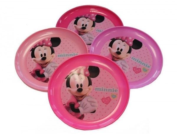 This item is currently out of stock  sc 1 st  Souq.com & Souq | Disney Minnie Mouse Plastic Plates Set of 4 Pieces TC069 | UAE