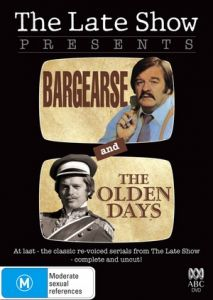 late show double feature bargearse the olden days dvd