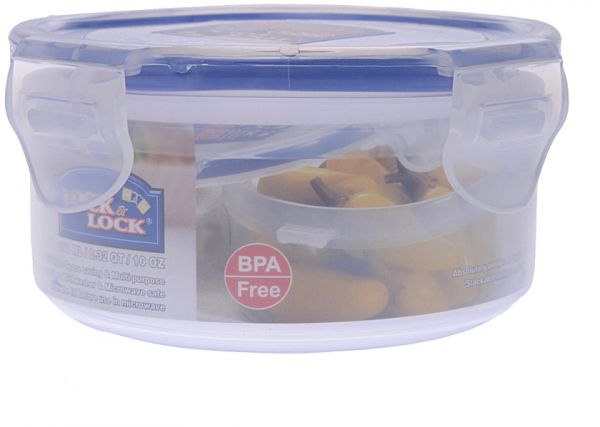 Buy Lock & Lock Round Food Container, 300 ml HPL932 in Egypt