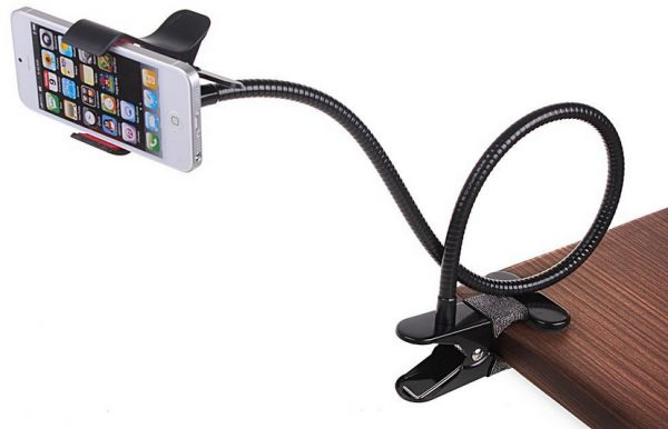 Universal Flexible Long Arms Mobile Phone Holder Desktop Bed Lazy