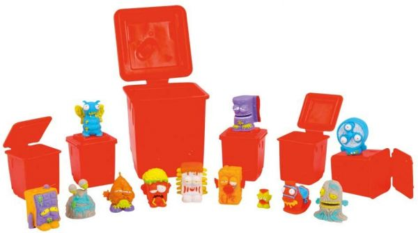 The Wheelie Bin Ooze Slide Is A 2 Playset That Consists Of Stairs Platforms And Built In For Trashies To Down On