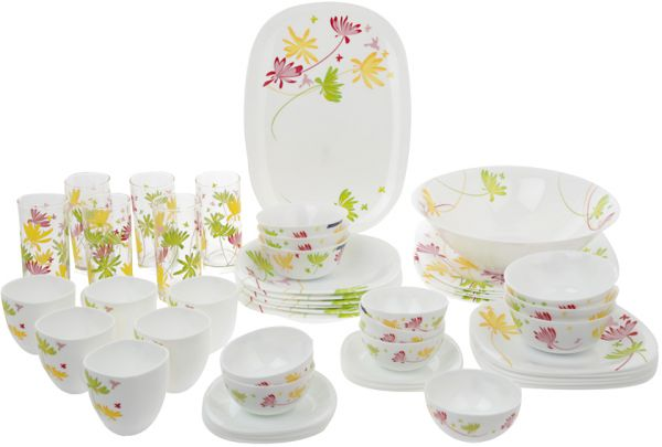 Luminarc Crazy Flower Dinnerware Set of 95 Piece DH4757  sc 1 st  Souq.com & Souq | Luminarc Crazy Flower Dinnerware Set of 95 Piece DH4757 | UAE