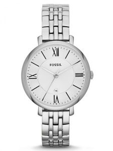 83210c1f909 Fossil Jacqueline For Women Silver Dial Stainless Steel Band Watch - ES3433