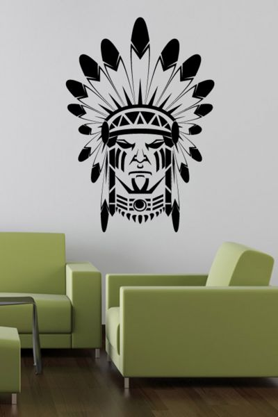 Walliv Indian Face Wall Sticker Decal Price In Uae Souq Home