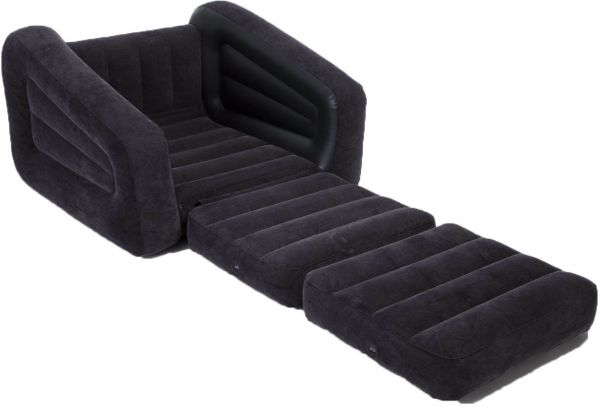 Terrific Intex One Person Inflatable Pull Out Chair Bed Sofa Bed Bralicious Painted Fabric Chair Ideas Braliciousco
