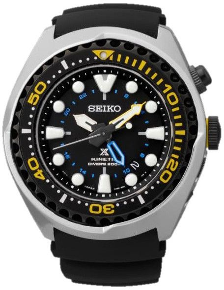Seiko Kinetic Men's Watch (SUN021) | Souq - UAE